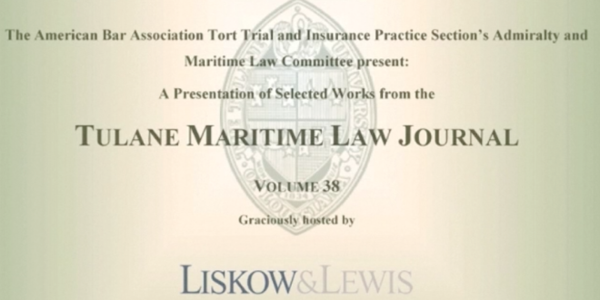 Casenote Presentations at Liskow & Lewis [VIDEO]